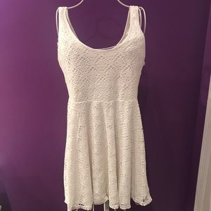 Aeropostale white dress